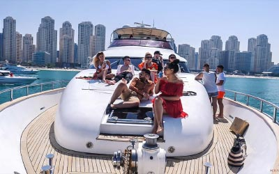 Luxury Yacht Party Rental Abu Dhabi